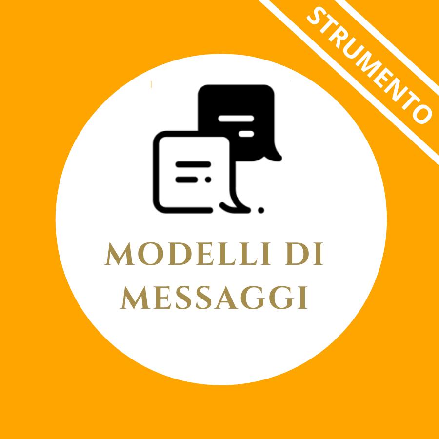 Modelli di messaggi