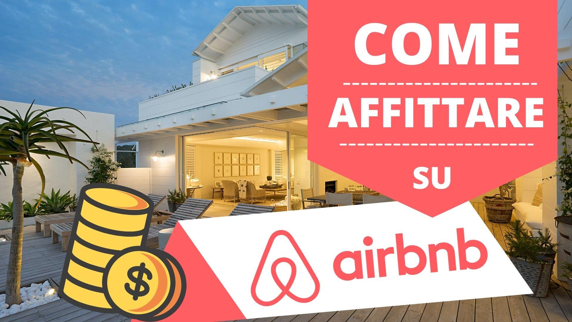 copertina affittare su Airbnb